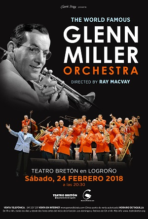THE WORLD FAMOUS <br>GLENN MILLER ORQUESTRA